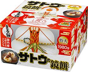 サトウの鏡餅まる餅入り 特大 の商品画像