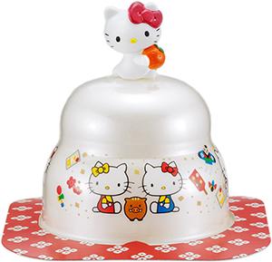 サトウの福餅入り鏡餅小飾り ハローキティオリジナルマスコット付き の商品画像