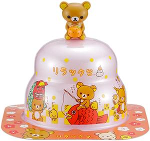 サトウの福餅入り鏡餅小飾り リラックマオリジナルマスコット付きピンク の商品画像