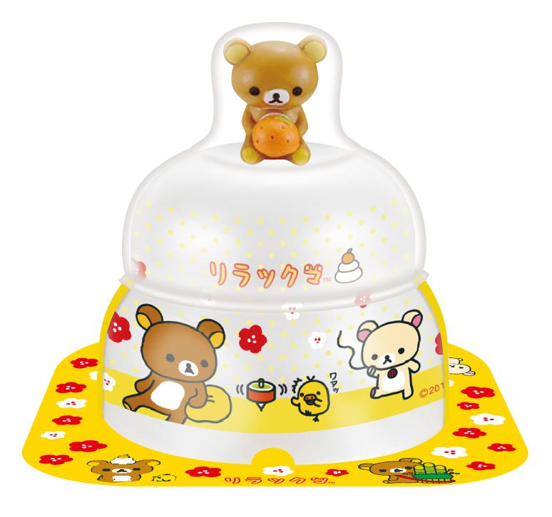 サトウの福餅入り鏡餅小飾り リラックマオリジナルマスコット付き の商品画像