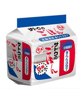北海道産きらら397 5食パック の商品画像