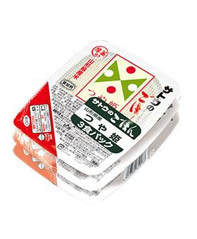 山形県産つや姫 3食パック の商品画像