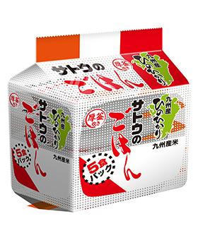 九州産ひのひかり200g  5食パック の商品画像
