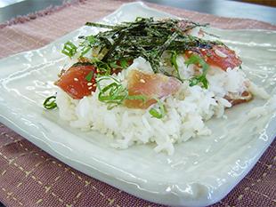 まぐろのてこね寿司の画像