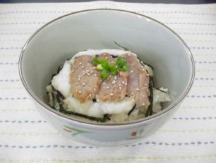 発芽玄米のつけ焼きマグロ丼の画像