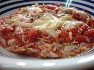 ツナトマ雑炊の画像