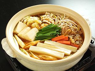 餅入りキムチ鍋の画像