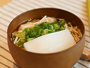 レンジで簡単!中華風雑煮の画像