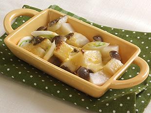 餅とタラの味噌マヨ焼きの画像