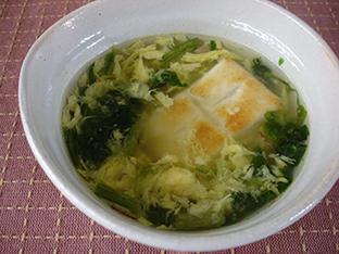 餅入りスープの画像