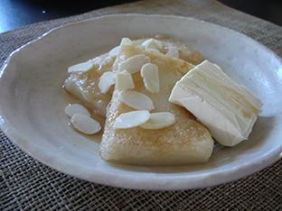 餅のバターソテーの画像