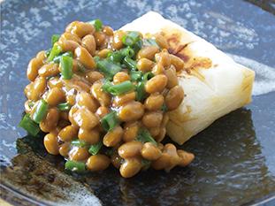 納豆餅の画像