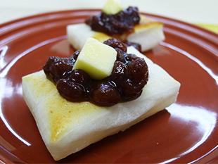 小倉バター餅の画像