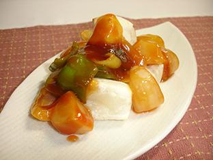 酢豚風 餅の甘酢和えの画像