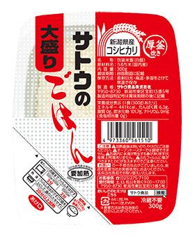 新潟県産コシヒカリ大盛 300g