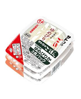 北海道産ゆめぴりか 3食パックの画像