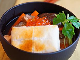 北海道雑煮の画像