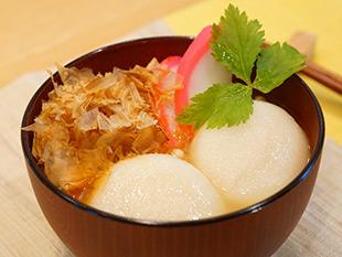 レンジで簡単!関西風雑煮の画像