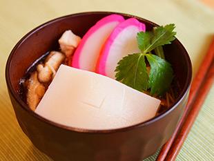 レンジで簡単!関東風雑煮の画像