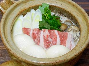 塩糀豆乳もちもち鍋の画像